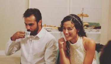 O çift de nişanlandı...
