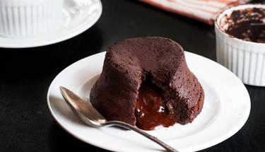 Çikolatalı sufleyi birde böyle deneyin!
