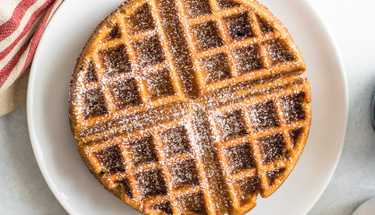 Ev yapımı waffle ile tatlı krizlerine son!