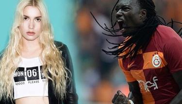 Aleyna Tilki'den Galatasaray'lı Gomis'e büyük jest!