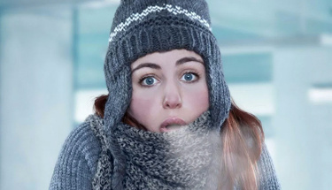 Kışın atkı takmak hayat kurtarıyor!