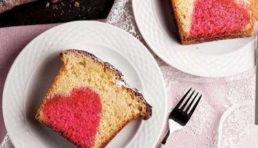 Aşkın en lezzetli hali aşk keki