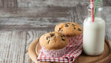 Lezzet şöleni; Damla çikolatalı muffin!