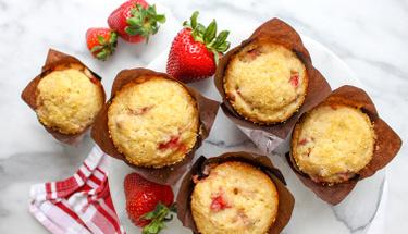 Lezzet harikası çilekli muffin tarifi