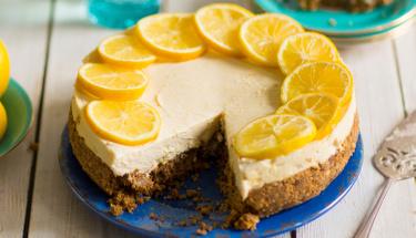 Kahvenin vazgeçilmez tatlısı limonlu cheesecake!