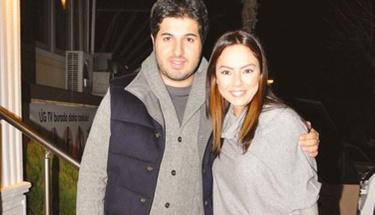 Ebru Gündeş kocası Reza Zarrab'a kavuştu