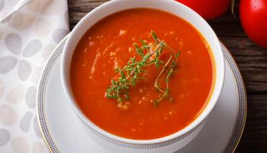 Yağ yakıcı domates çorbası nasıl yapılır?