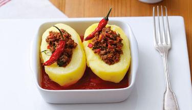 Biber dolması sevmeyenlere: Patates dolması