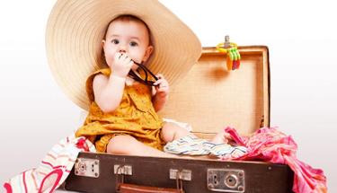 Bebekle tatile çıkmanın püf noktaları