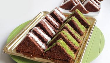 5 çaylarının vazgeçilmezi: Üçgen kek tarifi
