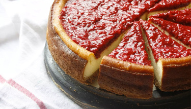 Bu lezzete bayılacaksınız: Frambuazlı Cheesecake