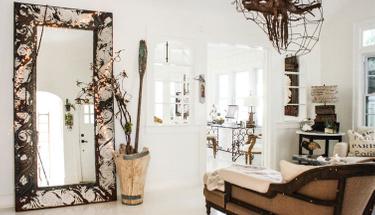 Evinizi kendi yaptığınız ayna dekoruyla güzelleştirin!