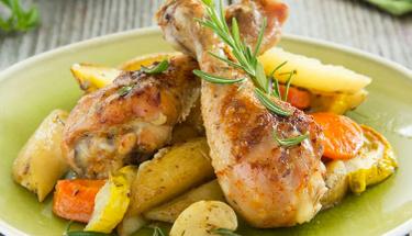 Lokum gibi yumuşacık: Fırın poşetinde tavuk