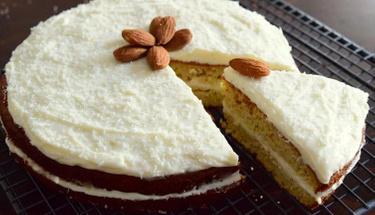 Yeni favoriniz olacak: Elmalı bademli kek