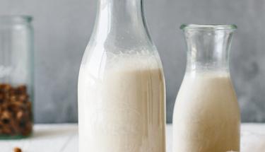 Evde bezelye sütü nasıl yapılır?