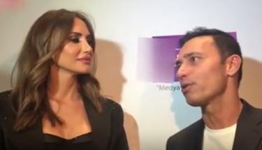 Mustafa Sandal ve Emina eski günlerdeki gibi....