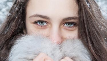 Soğuk havalarda gözlerinizde üşüyor!
