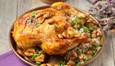 Parmak yedirten iç pilavlı tavuk dolma!
