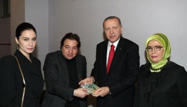 Cumhur Başkanı recep Tayyip Erdoğan'dan Fazıl Say'a hediye!
