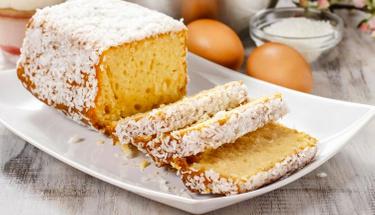 Tadına doyum olmaz: Hindistan cevizli kek tarifi