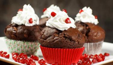 Lezzet bombası: Çikolatalı muffin