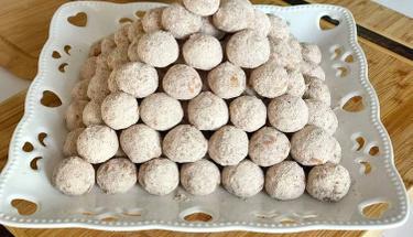 Ağızda dağılan lezzet: Tarçınlı lokmacık kurabiye