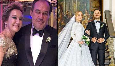 Davetlileri kaçıran hata! Demirören'in damadı ile karısı düğünde...
