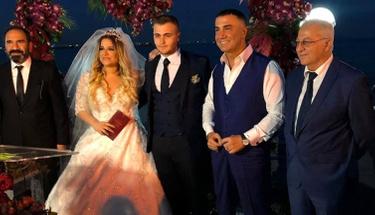 Ünlü şarkıcının kızı evlendi! Nikah şahitleri Sedat Peker oldu!