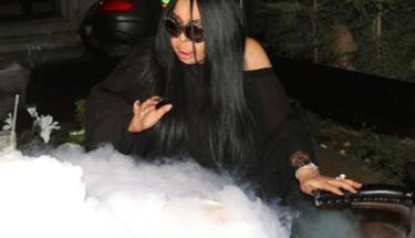 Diva çıkan dumanları görünce korkudan ne yapacağını şaşırdı!