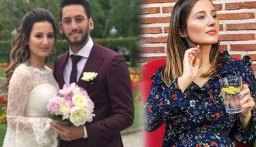Ünlü futbolcu Hakan Çalhanoğlu'ndan eşi için romantik paylaşım!