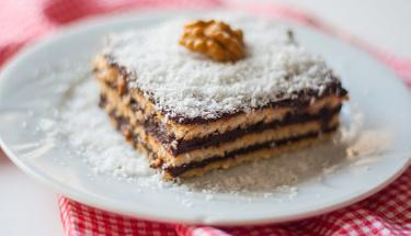 Anne eli değmiş gibi bisküvili pasta!