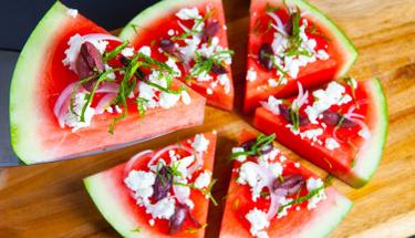 Yaz aylarının vazgeçilmez lezzeti: Karpuz pizza