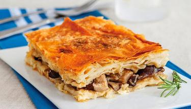 Hem doyurucu hem lezzetli: Mantarlı börek tarifi
