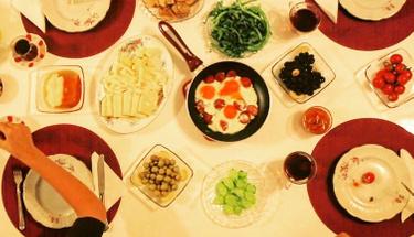Haftasonu kahvaltılarının vazgeçilmezi: Kabaklı pancake