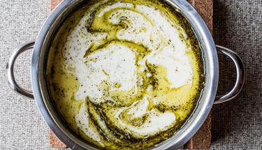 Kekik kokulu yayla çorbasını birde böyle deneyin!