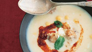 Nohutlu soğuk çorbayı birde bu şekilde deneyin!
