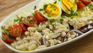 Antalya'nın enfes lezzeti: Tahinli piyaz tarifi