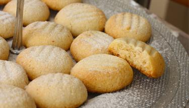 Ağızda dağılan tereyağlı kurabiye!