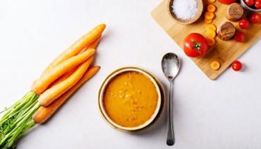 Yumuşak içimli havuç çorbası tarifi