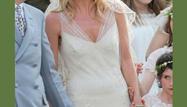 Kate Moss'un unutulmayacak düğünü