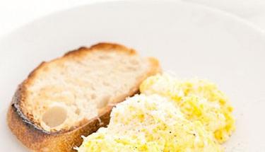 Baş döndürücü bir omlet tadı için...