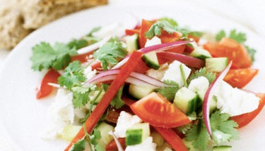 Yaz lezzeti: Akdeniz Salatası