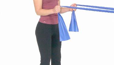 Pilates bandıyla pratik ve etkili 6 egzersiz