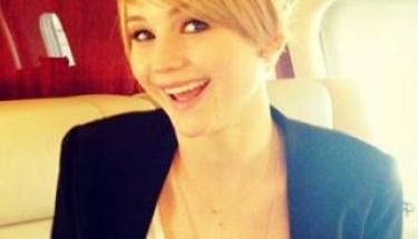 Jennifer Lawrence'ın yeni imajı!