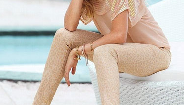 Candice Swanepoel'in sokak stili