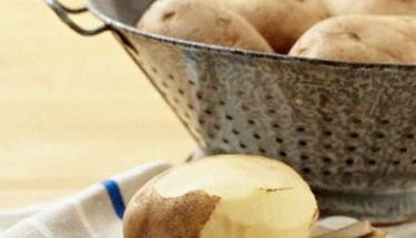 Patateslerin filizlenmemesi için...