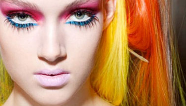 Makyajda renklerin dansı