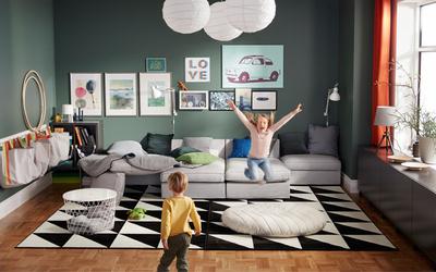 IKEA'dan çocuklu evler için dekorasyon önerileri