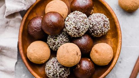 Lezzet ötesi çikolata toplarıyla kendinizi şımartın