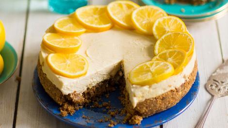 Ne tatlı ne ekşi limonlu cheesecake tarifi!